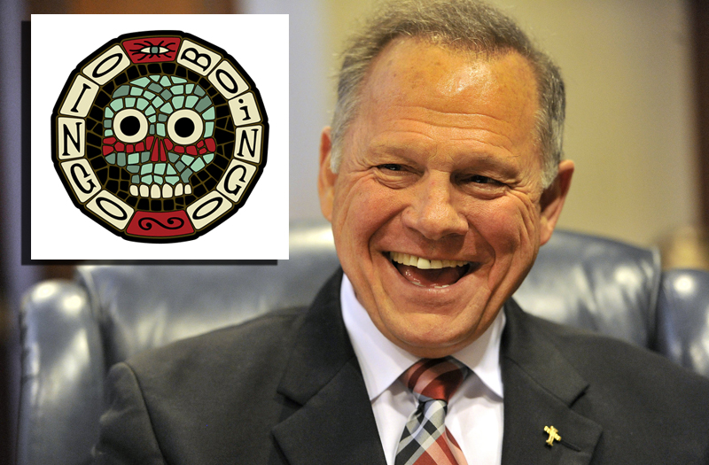 Roy Moore Starts Oingo Boingo Tribute Band To Tour Alabama Malls and Middle Schools